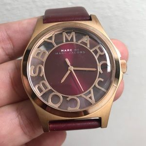 Marc by Marc Jacobs Henry Rose Gold Watch